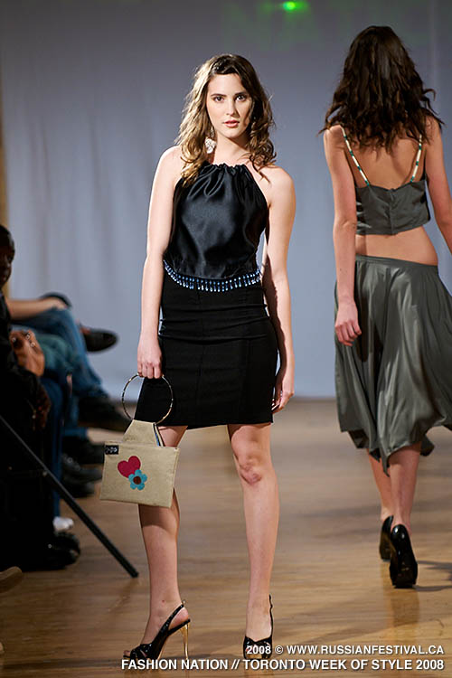 Next image from Toronto Week of Style 2008: Fashion Nation Fashion Show