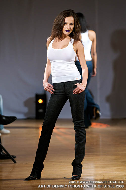 Next image from Toronto Week of Style 2008: Art of Denim Fashion Show