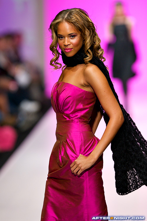 Next image from LG Toronto Fashion Week, Fall/Winter 2009-2010: Barbie by David Dixon Fashion Show