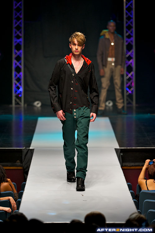 Next image from Bruno Ierullo 'The Last Rebel' Fashion Show, Spring/Summer 2011